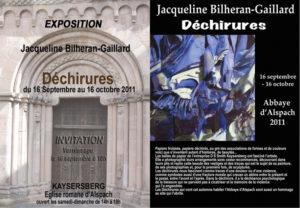 Déchirures, Abbaye Romane d'Alspach